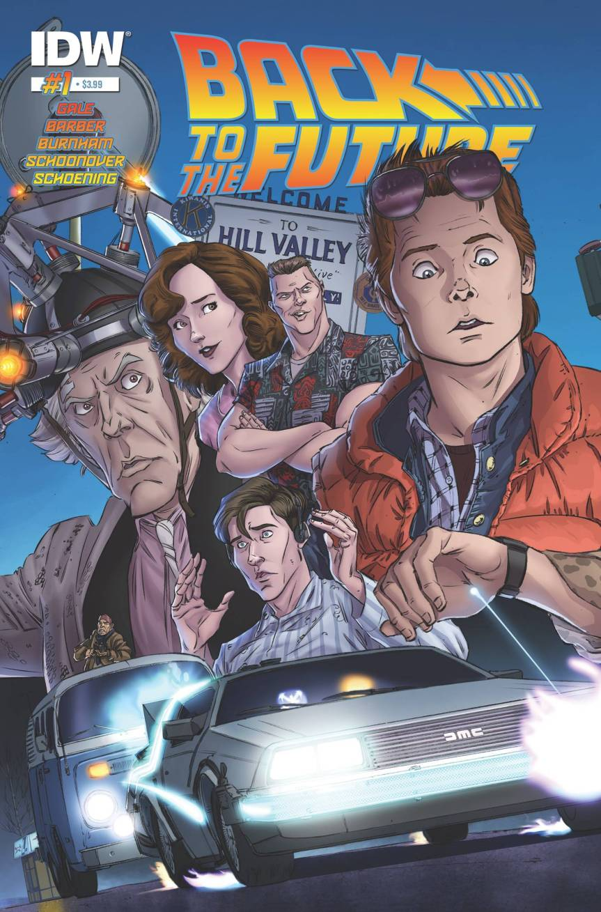 The IDW BTTF Comics Collector's Guide Is NowLive!