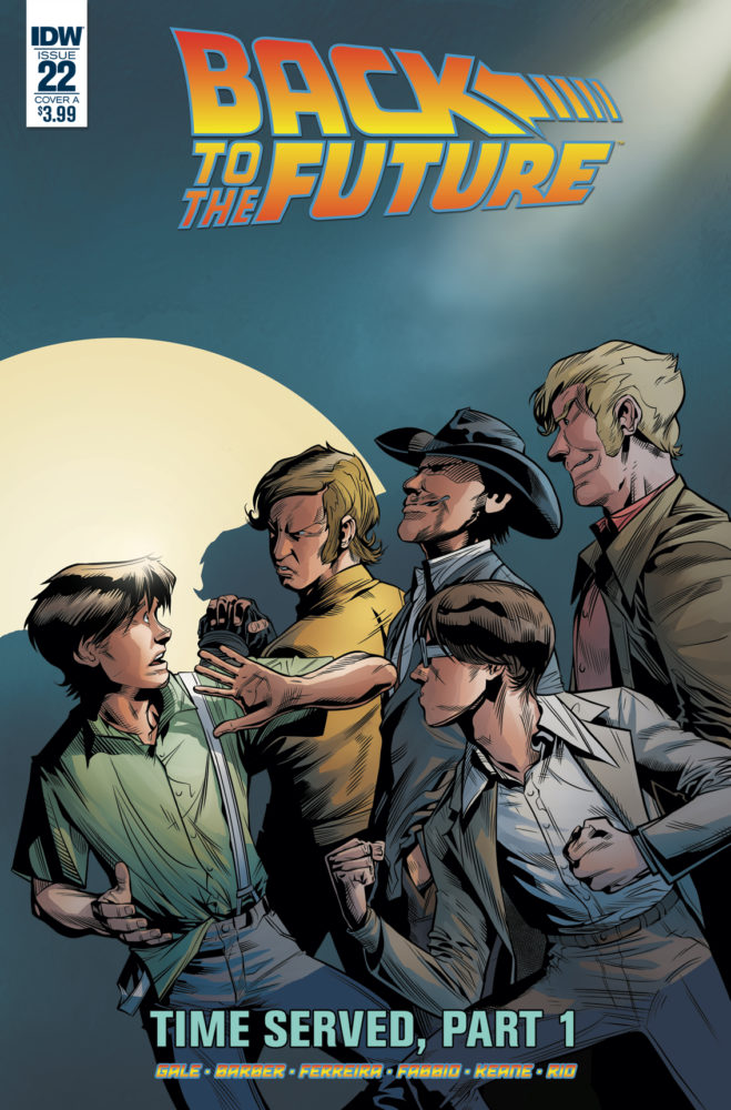 Back to the Future #5 Marcelo Ferreira Regular Cover IDW Comic Book