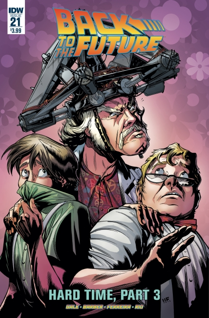 Back To The Future #21 Regular Cover Art By Marcelo Ferreira Colors By Jose Luis Rio (Released July 19th, 2017)