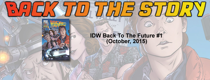 Back To The Story: IDW Back To The Future #1