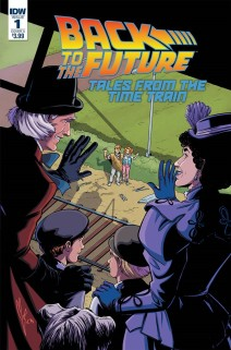 Back To The Future: Time Train #1 (Cover A) (Released On: December 27th, 2017)