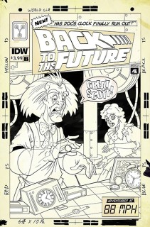 Back To The Future: Time Train #1 (Cover B) (Released On: December 27th, 2017)