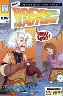 Back To The Future: Time Train #1 (Cover RI-B) (Released On: December 27th, 2017)