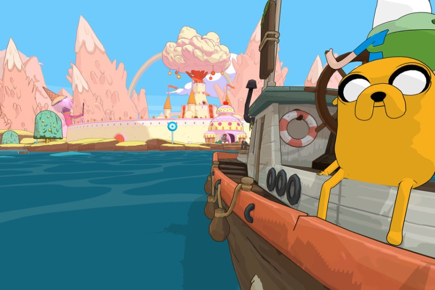 'Pirates of the Enchiridion' will explore the Land of Ooo by boat