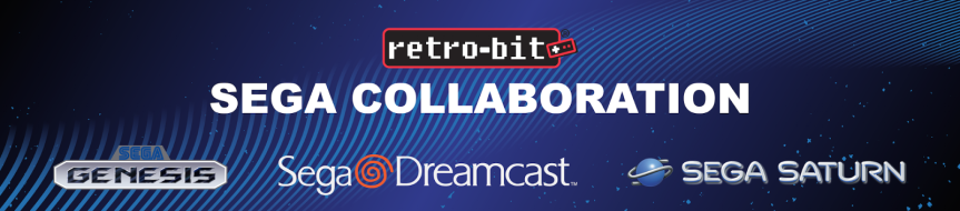 Official Sega Dreamcast, Saturn And Mega Drive Hardware Coming From Retro-Bit in2018!
