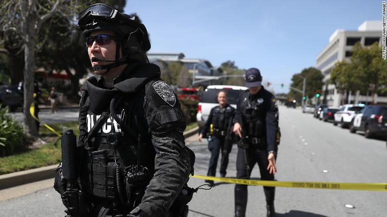 Woman opens fire at YouTube headquarters, wounding at least 3 before taking her own life