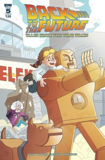 Back To The Future: Tales From The Time Train | Issue 5 | Cover B | Art By Philip Murphy