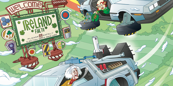 Back To The Future Comic Collector's Guide Update!(4/15/18)