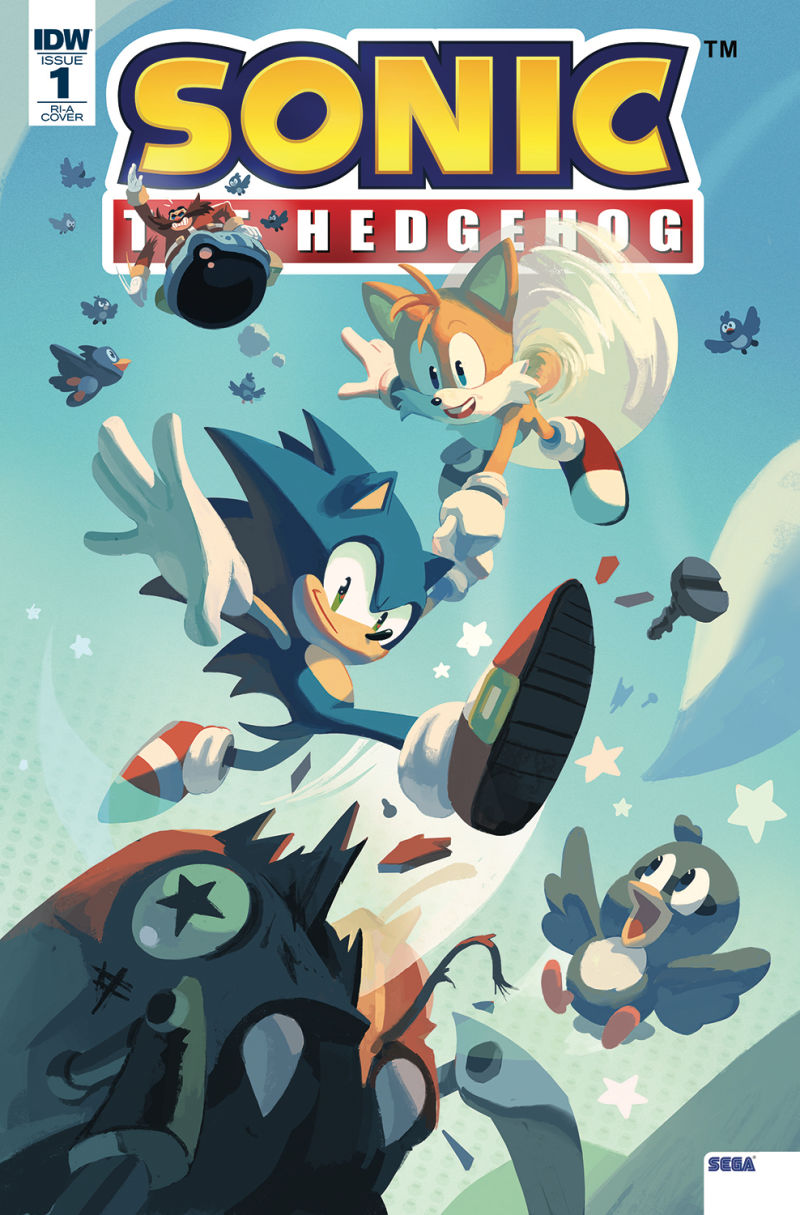 IDW_Sonic_The_Hedgehog_-1_(variant_cover)