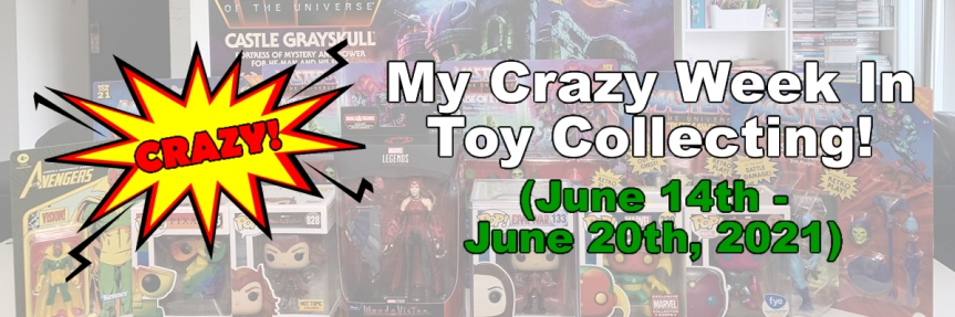 My Crazy Week In ToyCollecting!